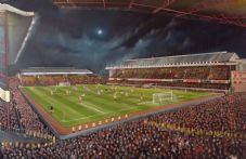 Arsenal v Man Utd  1991 - 20'' x 30'' Box Canvas